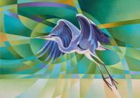 Heron-taking-flighthome