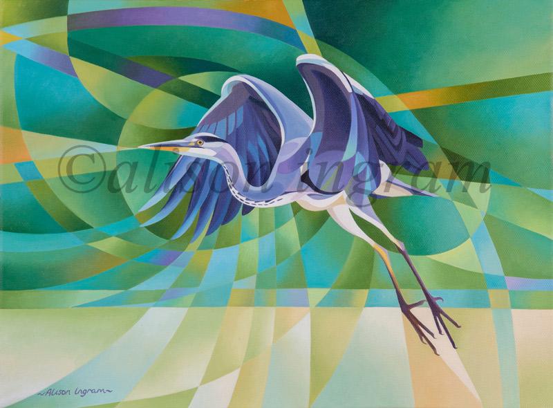 Heron-taking-Flight