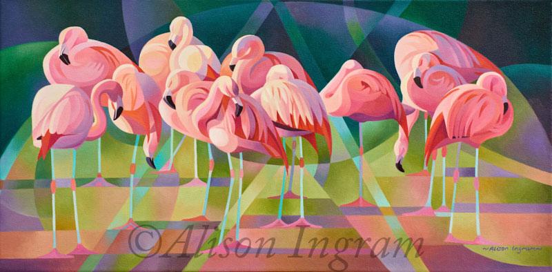 A-Flamboyance-of-Flamingos